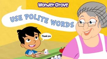 Use Polite Words Grade 1
