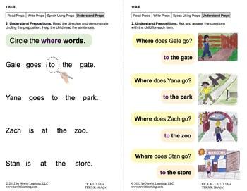 Use Prepositions: Lesson 10, Book 19 (Newitt Grammar Series)