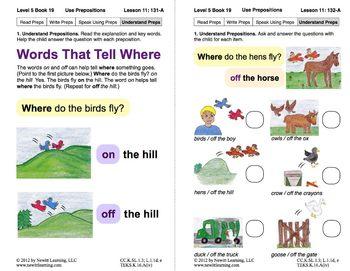 Use Prepositions: Lesson 11, Book 19 (Newitt Grammar Series)