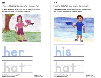 Use Pronouns: Lesson 3, Book 20 (Newitt Grammar Series)
