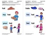 Use Pronouns: Lesson 3, Book 20 (Newitt Grammar Series)