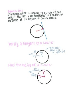 Use Properties of Tangents