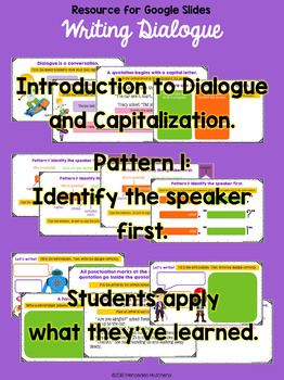Use Quotation Marks to Write Dialogue for the Google Classroom