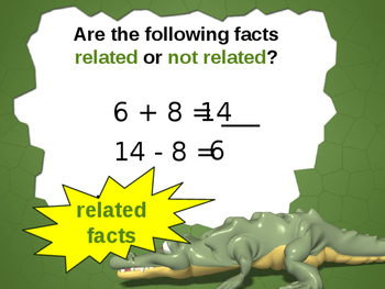 Use Related Facts to Add and Subtract Powerpoint