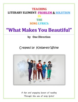 Use Song Lyrics to Teach Literary Elements!!  {Problem & Solution}