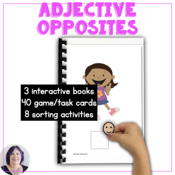 AAC Core Vocabulary Use Storybooks to Teach Opposite Adjectives