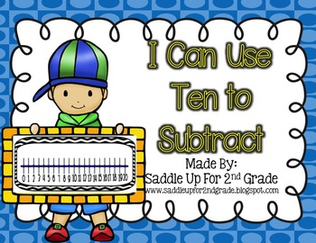 Use Ten to Subtract Task Cards