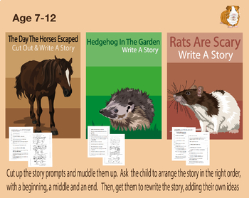 Use The Story Prompts To Write Animal Stories (7-11 years)