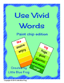 Use Vivid Words--paint chip edition