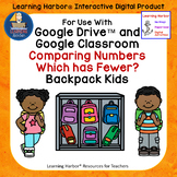 Use With Google Classroom™ Comparing Numbers Which has Fewer