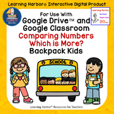 Use With Google Classroom™ Comparing Numbers Which has More
