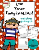 Use Your Imagination! Writing Prompts (Pirates, Transportation, Robots)