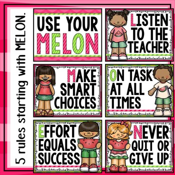 Use Your Melon! Guiding Rules for the Classroom