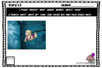 Use Your Noggin: Asking Questions Task Card Game