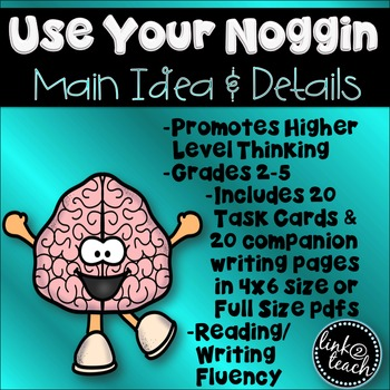 Use Your Noggin: Main Idea and Details Task Card Game
