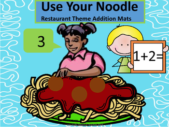 Use Your Noodle - Restaurant Addition Mats (Tools of the Mind)