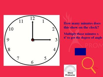 Use a Clock to Measure Angles