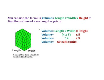 Use a Formula to Determine the Volume PowerPoint