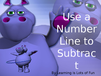 Use a Number Line to Subtract Powerpoint