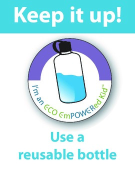 Use a Reusable Water Bottle Kit (intermediate version)