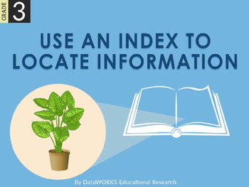 Use an Index to Locate Information