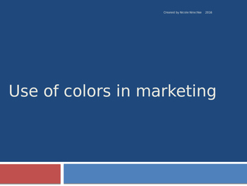 Use of Colors in Marketing