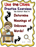 Gr. 3-5-Use the Clues: Use Context Clues to Determine Mean