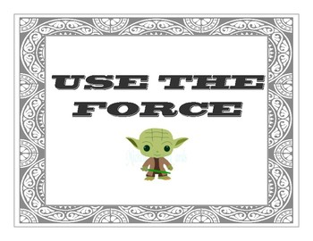 Use the FORCE Classroom Rules
