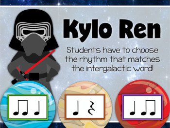 Interactive Rhythm Game - Use the Force Space-themed Rhythm Game
