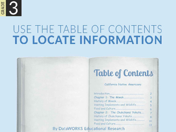 Use the Table of Contents to Locate Information