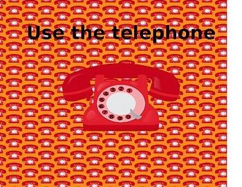 Use the Telephone
