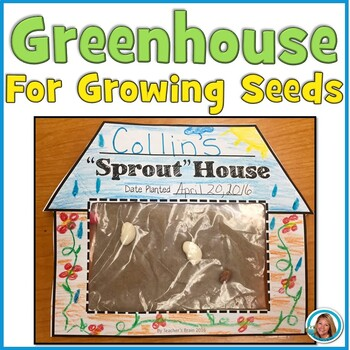 """Greenhouse for Seeds """"Sprout"""" House"""