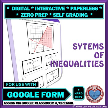 Solving Systems Of Inequalities Worksheets & Teaching