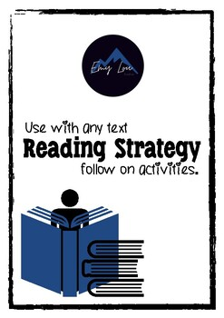 Reading Strategy Comprehension Activities: Use with any text