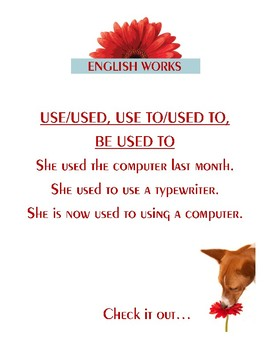 Use/Used, Use to/Used to, BE Used to