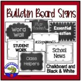 Bulletin Board Signs - First Week of School