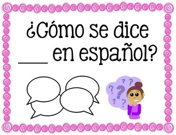 Useful Classroom Phrases in Spanish