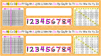 Useful & Colorful Desk tags/ Name tags