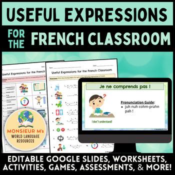 Useful Expressions for the French Classroom [Vocabulaire de la salle de classe]