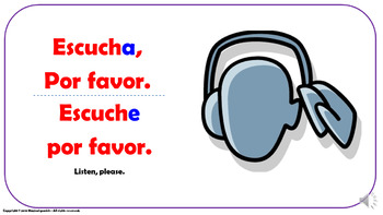 Useful Expressions in the Spanish Classroom (1). Power Point Presentation.