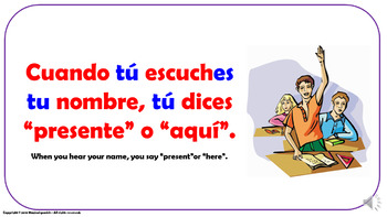Useful Expressions in the Spanish Classroom (2). Power Point Presentation.