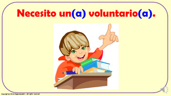 Useful Expressions in the Spanish Classroom (4). Power Point Presentation.