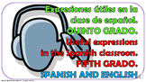 Useful Expressions in the Spanish Classroom (6). Power Point Presentation.
