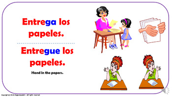 Useful Expressions in the Spanish Classroom (7). Power Point Presentation.