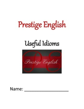 Useful Idioms & Exercises