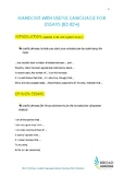 Useful Language for Essay Writing (B2-C1 level, English)