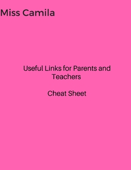 Useful Links for Teachers and Parents