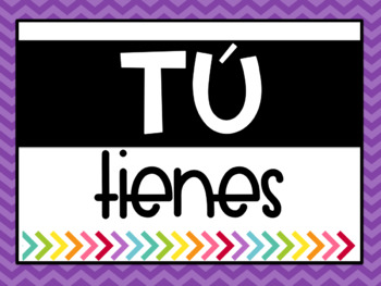 Useful Phrases and Verbs in Spanish - Posters