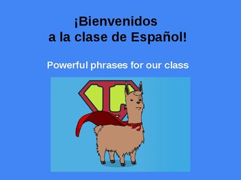 Useful Phrases for Spanish Class Prezi