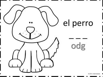 bilingual spanish coloring book farm animals theme